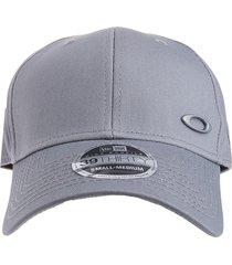 gorra gris oakley heather new era hat