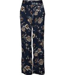 trousers vida byxor blå rosemunde