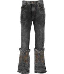 y/project cowboy cuff jeans