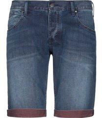 armani jeans denim bermudas