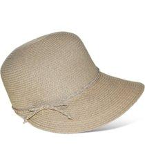 nine west packable classic braid framer hat