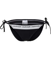 calvin klein ck logo string side tie bikini * gratis verzending *