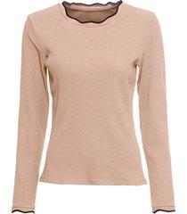 maglia a costine (marrone) - bodyflirt