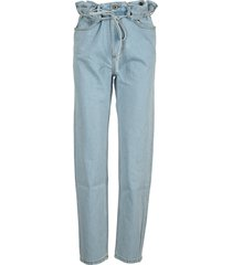 y/project paperbag-waist jeans