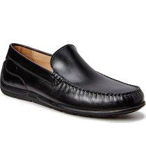 classic moc 2.0 loafers låga skor svart ecco