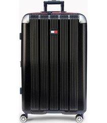 "tommy hilfiger women's 28"" spinner suitcase black -"
