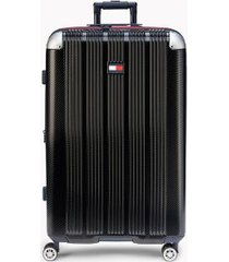 "tommy hilfiger women's 28"" spinner suitcase black -"