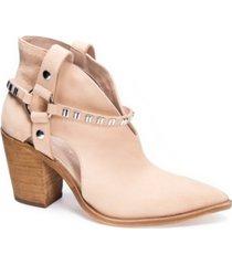 chinese laundry women's tabby block heel booties women's shoes