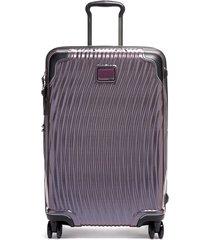 tumi latitude 27-inch short trip rolling suitcase - purple