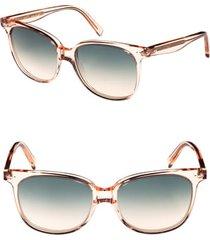 women's celine 57mm square sunglasses -