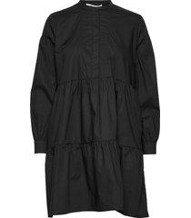 margo shirt dress 11332 kort klänning svart samsøe & samsøe