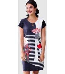jurk alba moda marine::rood