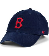 '47 brand boston red sox mclean coop clean up cap