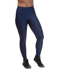 legging miss blessed 3d poliamida azul-marinho