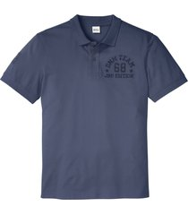 polo a maniche corte (blu) - john baner jeanswear
