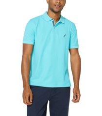 nautica men's classic-fit performance deck polo shirt