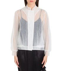simone rocha pleated tulle jacket