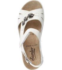 sandalett semler vit