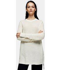 *cream seam detail sweater by topshop boutique - cream