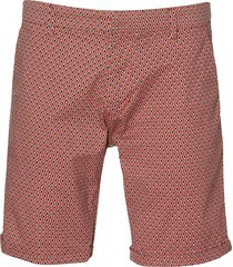 dstrezzed short - slim fit - rood