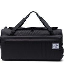 herschel supply co. outfitter 70-liter convertible duffle bag - black