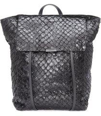 mochila masculina pirarucu small backpack - preto