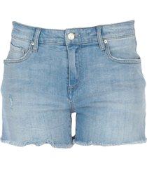 armani exchange denim shorts