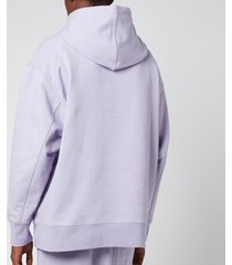 y-3 men's classic chest logo hoodie - hope - xl