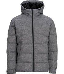 gewatteerde jas hoodie