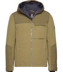 deepsteep jacket m outerwear sport jackets groen salomon