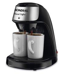 cafeteira elétrica smart coffee 110v preta