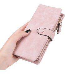 portafoglio donna elegante portafoglio lungo hasp