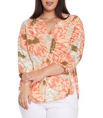 nydj blouse, size 2x in avalon at nordstrom
