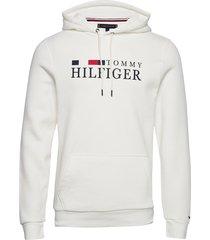 basic hilfiger hoody hoodie trui wit tommy hilfiger