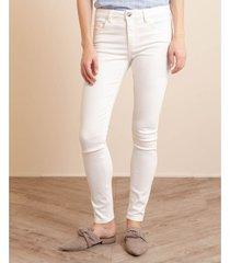jean skinny white denim