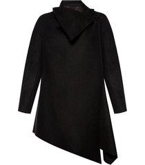 city asymmetrical coat