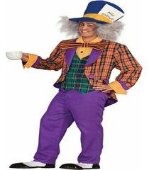 buy seasons men's plaid mad hatter costume