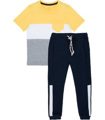 conjunto largo amarillo  offcorss