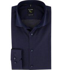 olymp overhemd no. 6 super slim donkerblauw