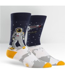 sock it to me men's one giant leap socks