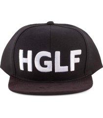 boné hglf high life snapback preto básico preto