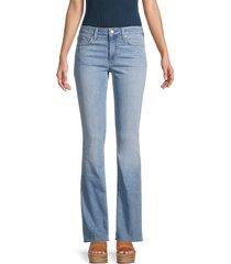 joe's jeans women's mid-rise bootcut jeans - blue - size 31 (10)
