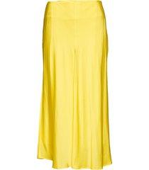 paja knälång kjol gul custommade
