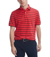 tommy hilfiger men's dean stripe polo shirt, created for macy's
