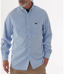 lois jeans thomas needle cord shirt - bit of blue 1087-5771