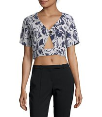 gisella crop top