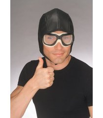 r49162 aviator cap & goggles set