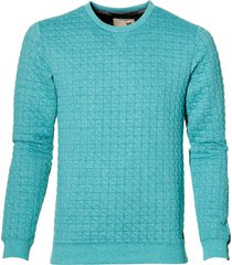 no excess pullover - slim fit - blauw