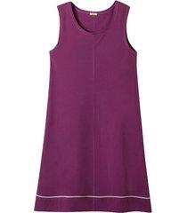 jersey jurk van bio-katoen met kant, rododendron 46