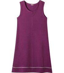 jersey jurk van bio-katoen met kant, azalea 36